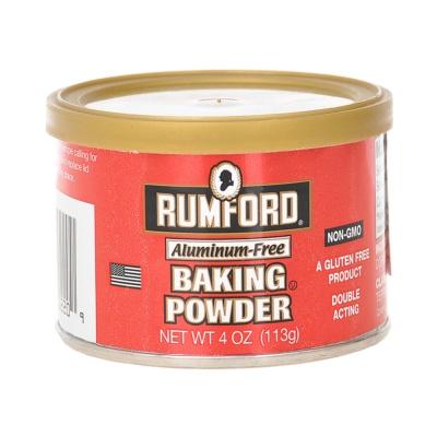 Rumford Aluminum-Free Baking Powder 113g