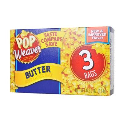Pop Weaver Butter Popcorn 183g