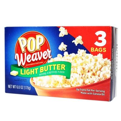 Pop Weaver Light Butter Popcorn 170g