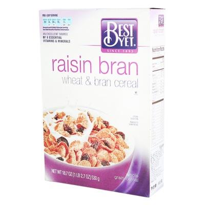Best Yet Wheat&Bran Cereal 530g