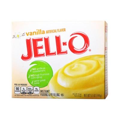 Jell-O Vanilla Pudding Mix 144g