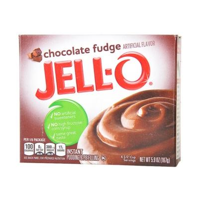 Jell-O Chocolate Fudge Instant Pudding Mix 167g