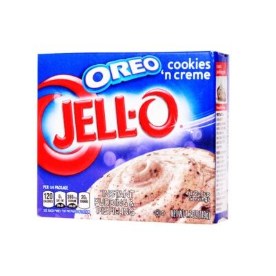 Jello Oreo Cookies Cream 119g
