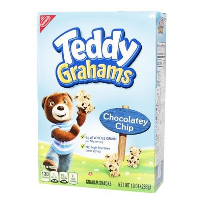 Nanisco Teddy Grahams Chocolatey Chip Cookies 283g
