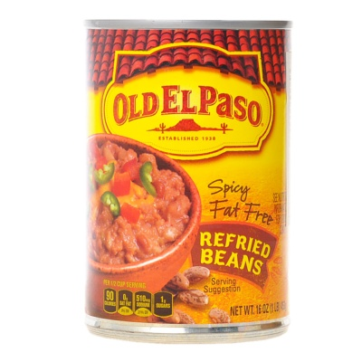 Old Elpaso Spicy Fat Free Refried Beans 453g