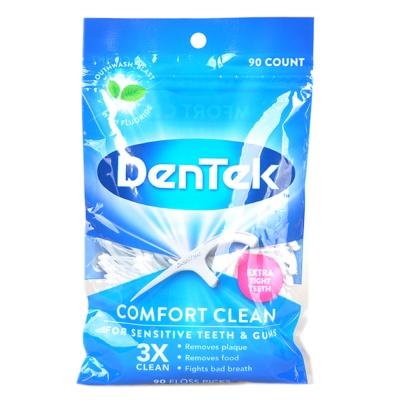 Dentek Comfort Clean Floss Picks 90p