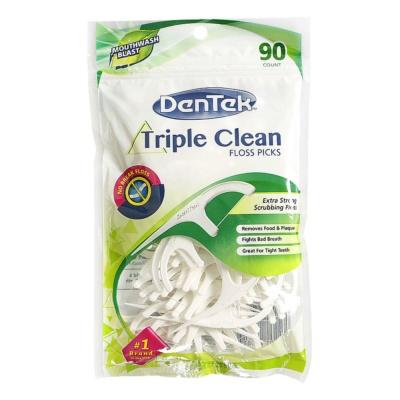 DenTek Scrubbing Floss Picks