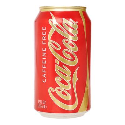 可口可乐汽水无咖啡因 355ml