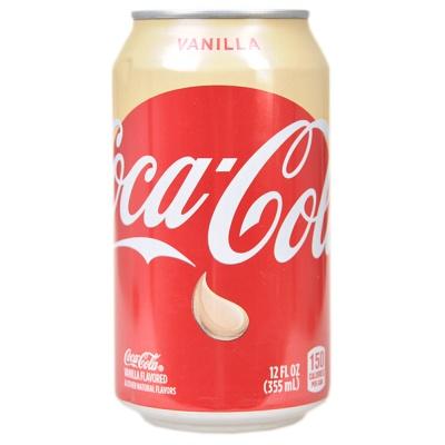 可口可乐汽水香草口味 355ml