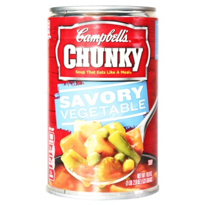 Campbell Chunky Savory Vegetable soup 533g