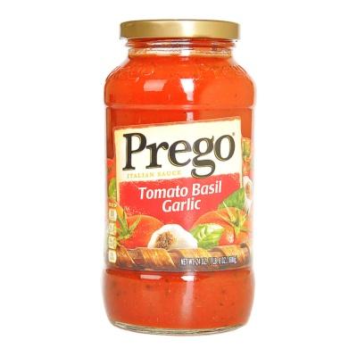 Prego Tomato Basil and Garlic Classic Italian Spaghetti Sauce 680g