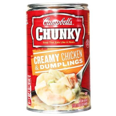 Campbells Creamy Chicken&Dumplings Soup 533g
