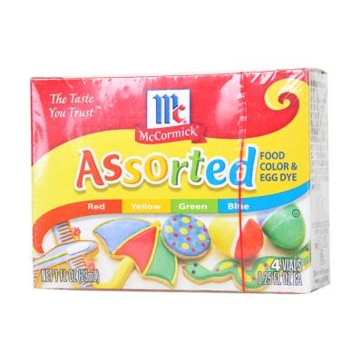 McCormick Assorted Food Color & Egg Dye 29ml