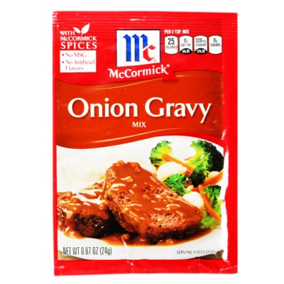 Mccormick Onion Gravy Mix 24g