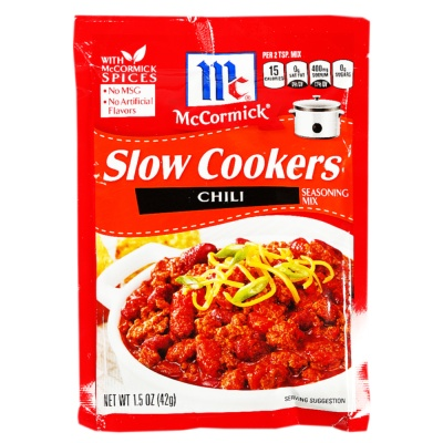 McCormick Slow Cookers Chili Seasoning Mix 42g