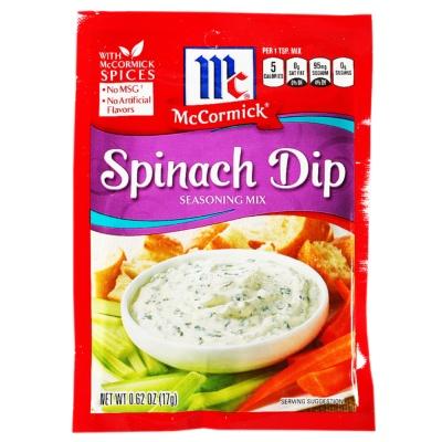McCormick Spinach Dip Seasoning Mix 17g
