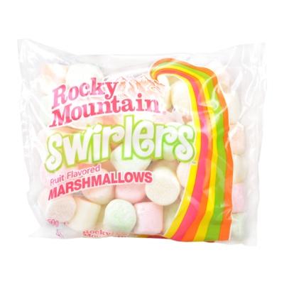Rocky Mountain Swirles Fruit Flavored Marshmallows 150g