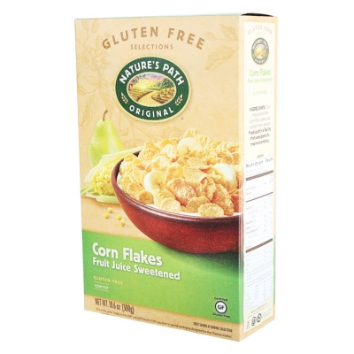 Nature's Path Fruit Juice Sweetened Corn Flakes 300g