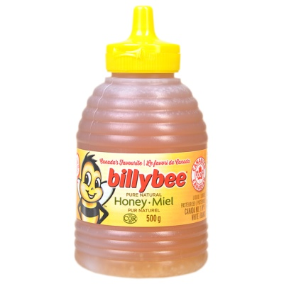 Billybee Pure Natural Honey 500g