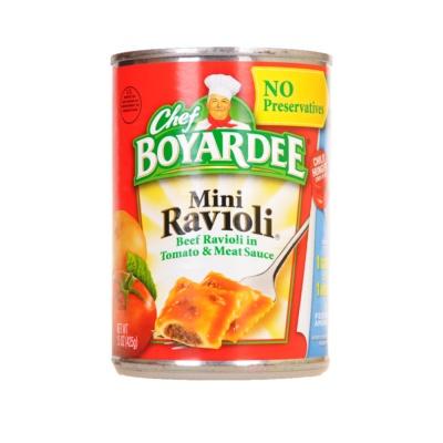 Chef Boyardee Mini Rarioli 425g
