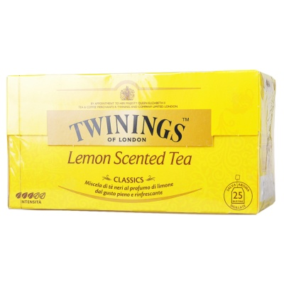 Twinings Lemon Scented Tea 50g