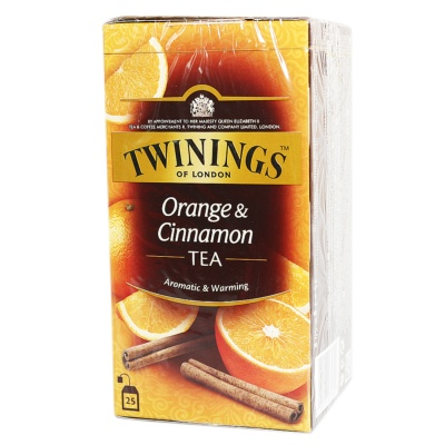 Twinings Orange&Cinnamon Tea 50g