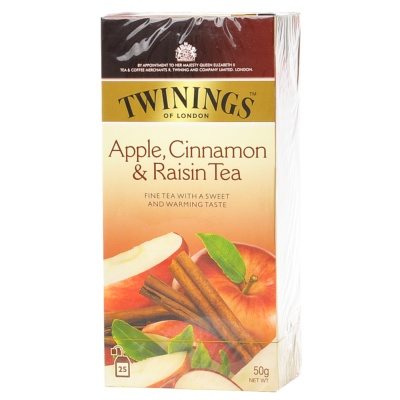 Twinings Apple Cininamon & Raisin Tea 50g