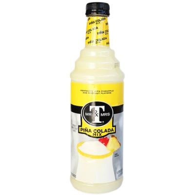 MR&MRS Pina Colada Mix (Naturally And Artificially Flavored) 1L