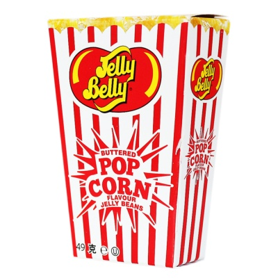 Jelly Belly Buttered Pop Corn Flavour Jelly Beans 49g