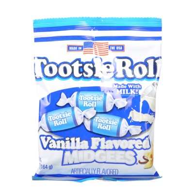 Tootsie Vanilla Flavored Midgees 164g