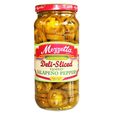 Mezzetta Deli-Sliced Jalapeno Peppers 473ml