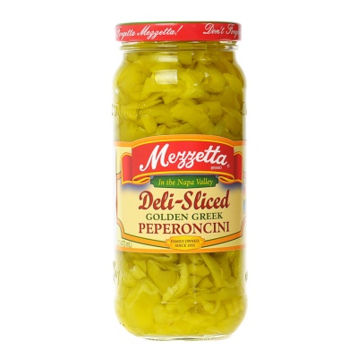 Mezzetta Deli Sliced Golden Greek Peperoncini 473ml