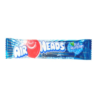 Air Heads Blue Rospberry Candy 15.6g