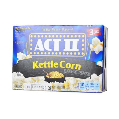Actii Kettle Corn Sweet & Salty Popcorn 3*78g