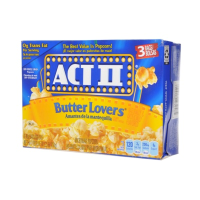 Act Butter Lovers Popcorn 234g