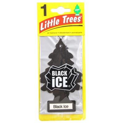 Little Trees Black Ice Air Freshener 1pk