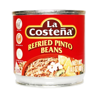 La Costena Refried Pinto Beans 400g