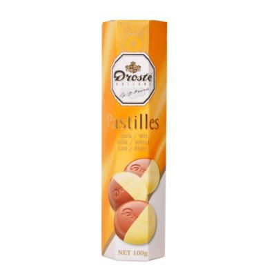 Droste Milk & White Chocolate Pastilles 100g
