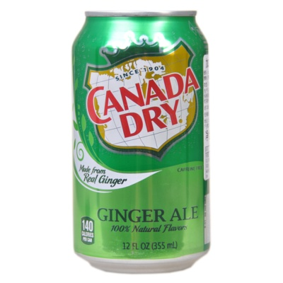 Canada Dry Ginger Ale 355ml