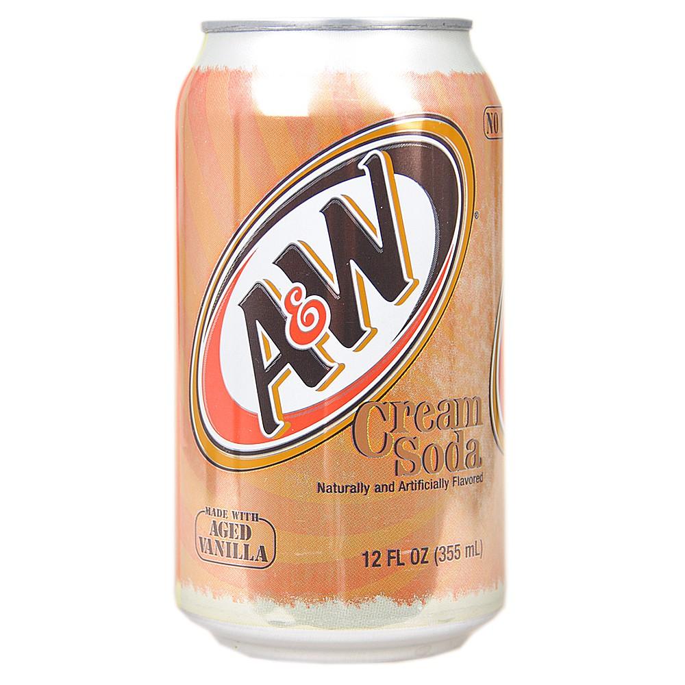A&W Vanilla Cream Soda 355ml