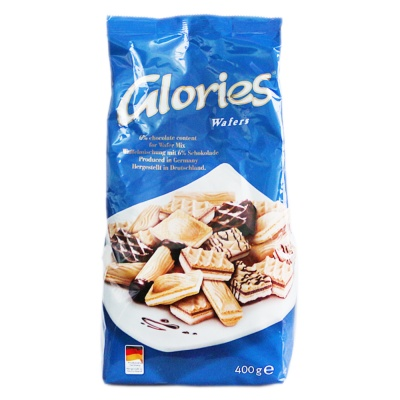 Glories Waffles 400g