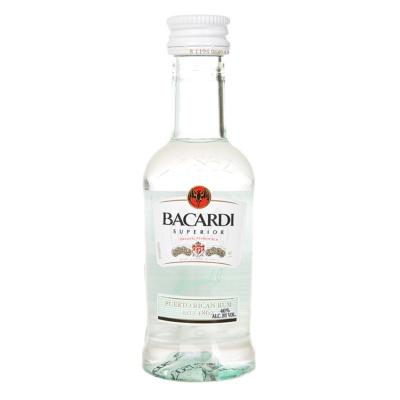 百加得超级朗姆酒 50ml