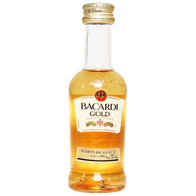 Bacardi Gold Rum 50ml