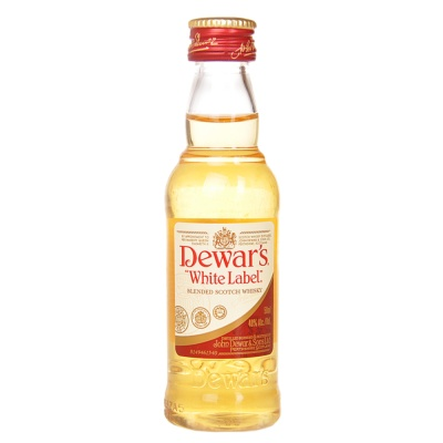 Dewar's White Label Blended Scotch Whisky 50ml
