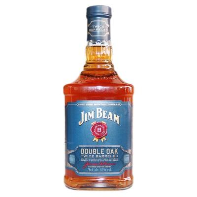 Jim Beam Double Oak Twice Barreled Whisky 750ml
