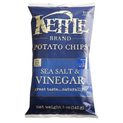 Kettle Sea Salt & Vinegar Flavor Potato Chips 142g