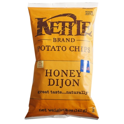 Kettle Honey Mustard Flavor Potato Chips 142g