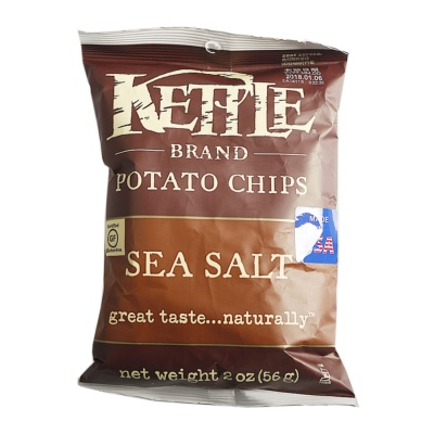 Kettle Sea Salt Flavor Potato Chips 56g