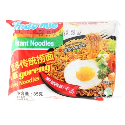 Indo Mie Fried Instant Noodles 85g