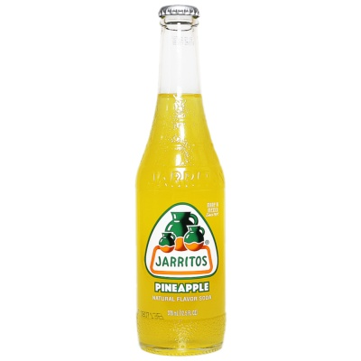 Jarritos Natural Flavor Soda (Pineapple) 370ml
